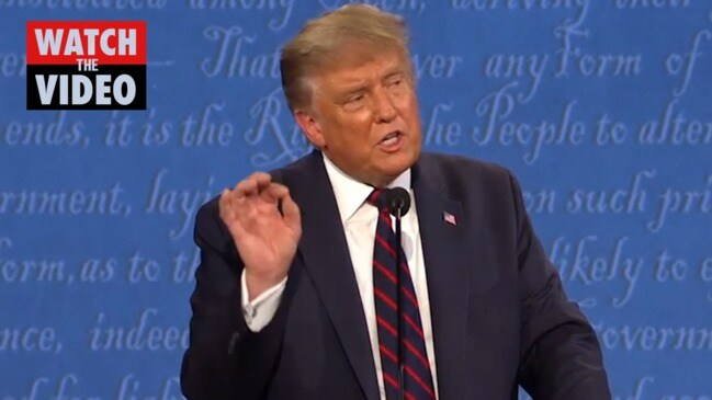 "Trump's US Election debate comeback: ""There's nothing smart about you"""