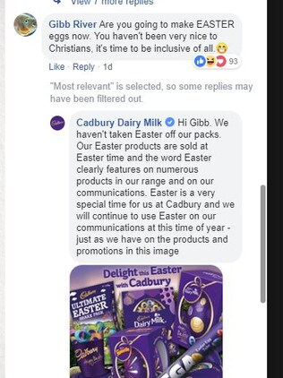 Cadbury still has to explain to customers it has not banned 'Easter'.