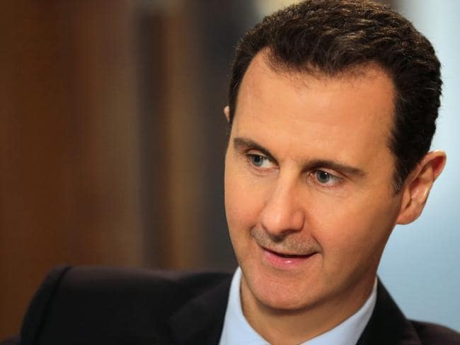 Sworn enemy ... Riyadh and Ankara are both opposed to Syrian President Bashar al-Assad. Picture: Joseph Eid/AFP