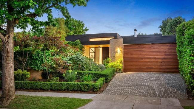 46 Leura Grove, Hawthorn East, was Melbourne's biggest sale for the week.