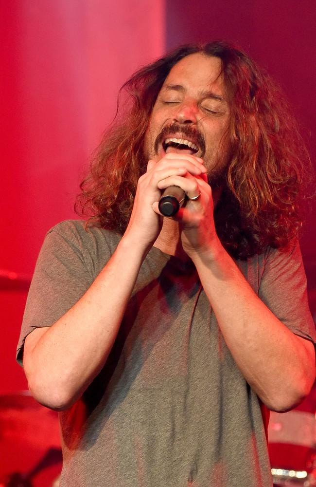 Chris Cornell died in May 2017. Picture: AFP/Getty/Kevin Winter