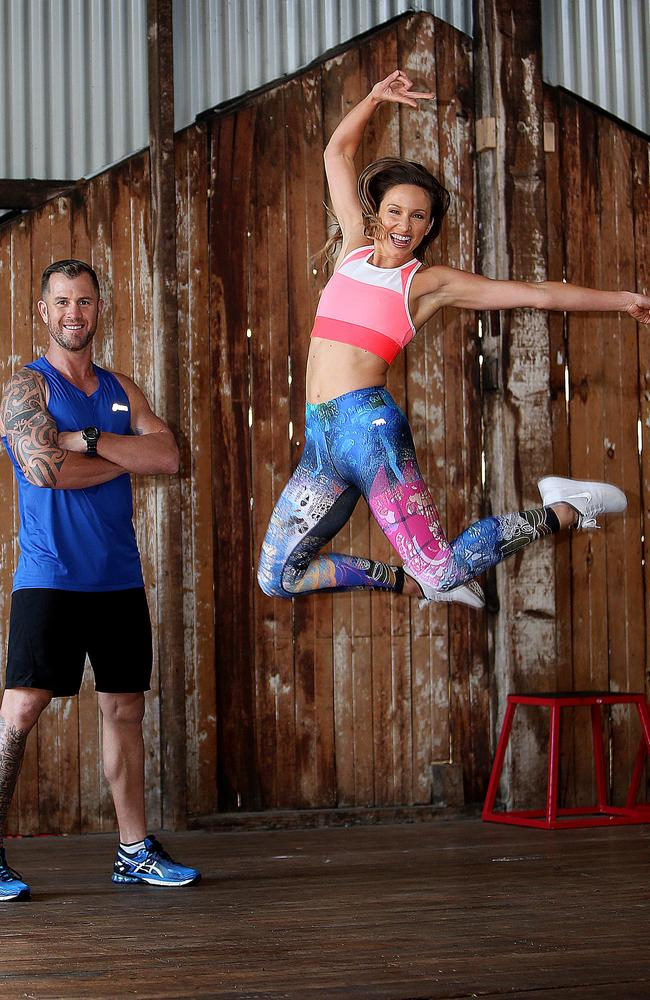 Personal trainer Babet is jumping for joy at joining the hit reality series. Picture: Kristi Miller