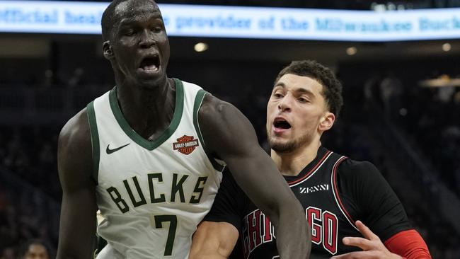 Thon Maker is starting to make an impression with the Bucks.