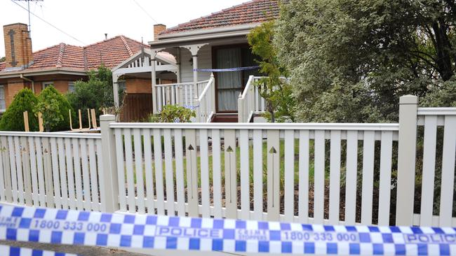 Police are investigating a wild party at a Malvern East home. Picture: Andrew Henshaw