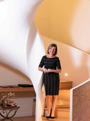 Toula Cassen inside the home. (AAP/Flavio Brancaleone)
