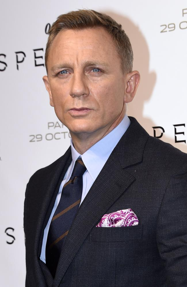 The James Bond movie will be Daniel Craig's fifth
