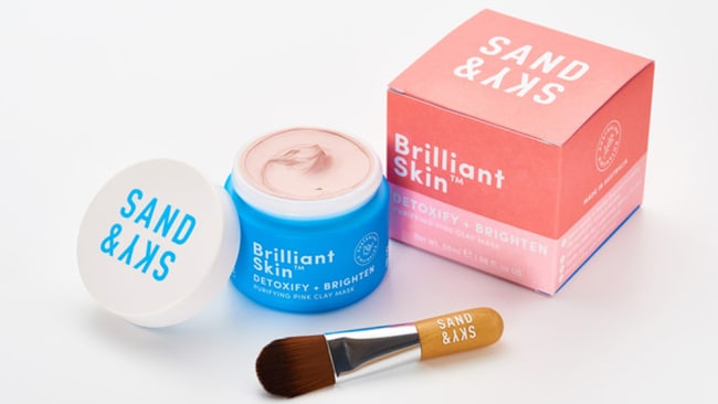 Sand & Sky Brilliant Skin Purifying Pink Clay Mask, $69.90