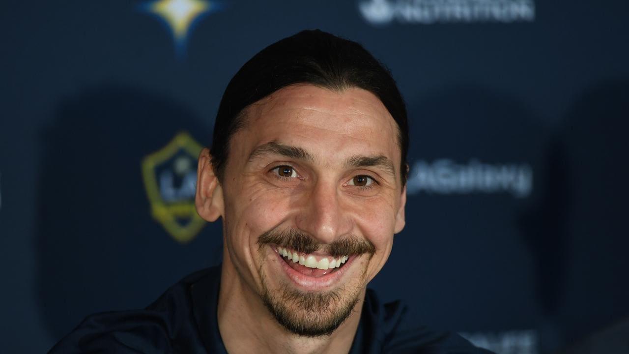 LA Galaxy footballer Zlatan Ibrahimovic has since joined LA Galaxy