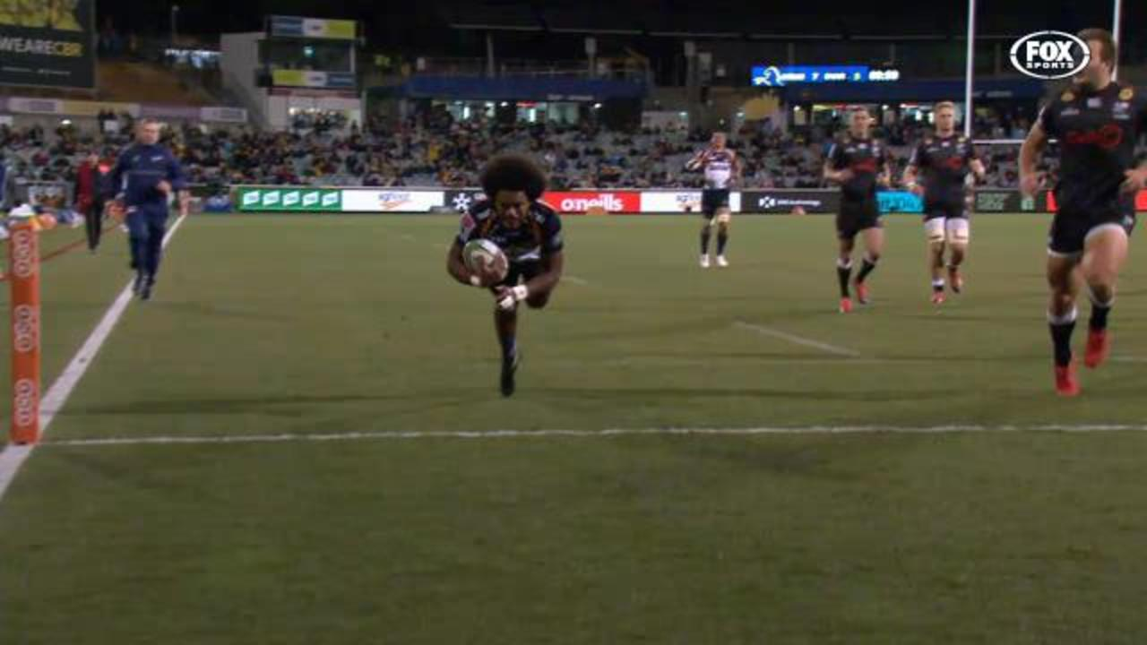 Brumbies' beautiful try