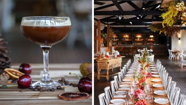 Christmas like you've never seen it before. Image: Acre Eatery