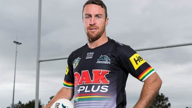 James Maloney in his Penrith Panthers kit.