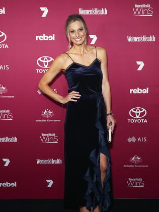 Netballer Laura Geitz. (Photo by Brendon Thorne/Getty Images)