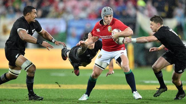 Jonathan Davies was one of the Lions' best against the All Blacks in this year's epic three-match series.