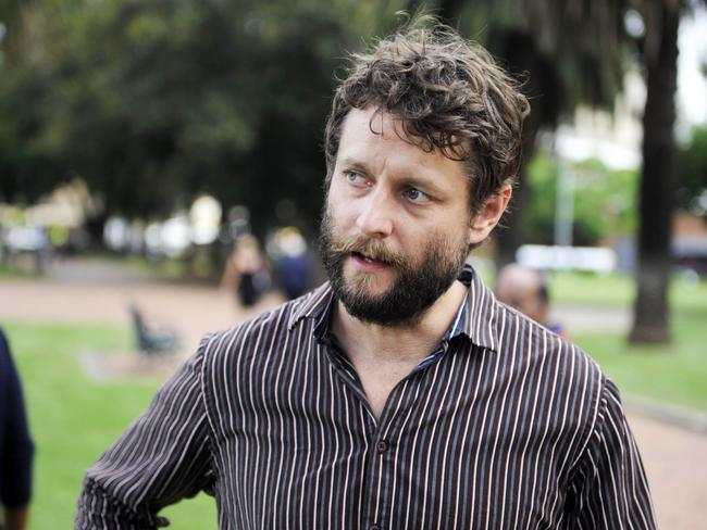 Inspiring ... artist Ben Quilty has become Myuran Sukumaran's confidante. Picture: Supplied