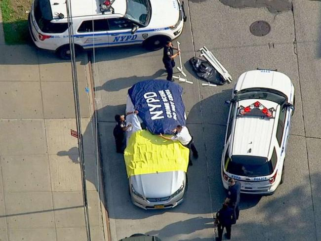 It is reported he was meant to take the one-year-old babies to daycare. Picture: WABC