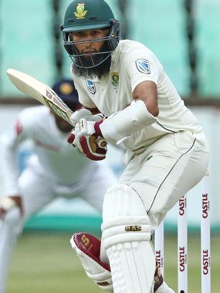 Hashim Amla couldn't make the most of his reprieve.