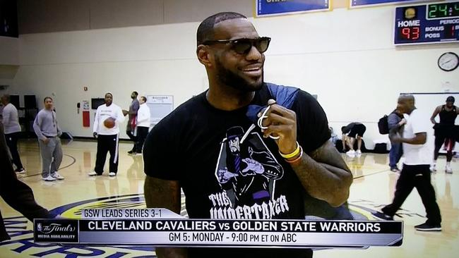 0272910401a6 LeBron James The Undertaker: Why Cavs star snubbed WWE legend