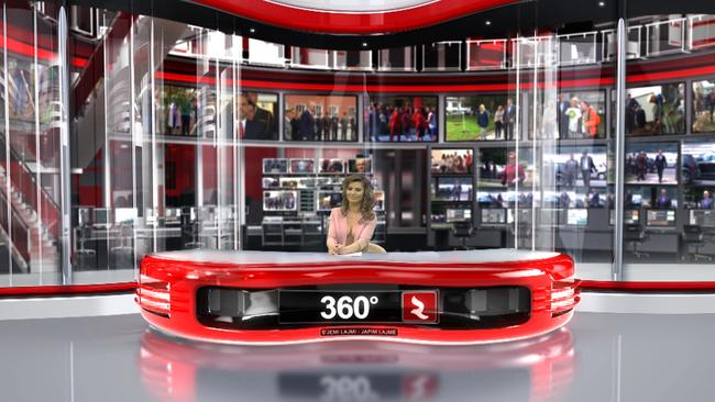 Greta Hoxhaj, Enki Bracaj: Zjarr TV newsreaders strip for ratings