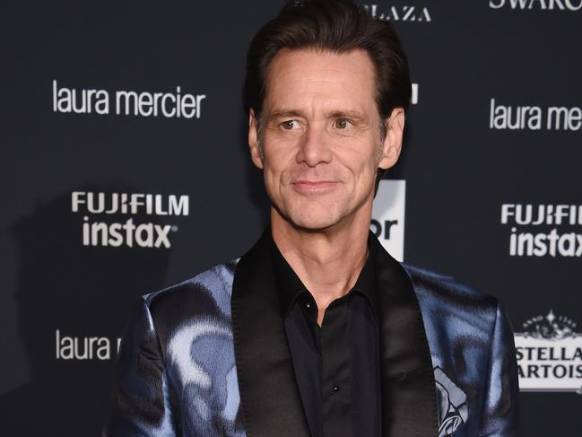 "Jim Carrey at Harper's Bazzar's Celebration of ""ICONS By Carine Roitfeld"" at The Plaza Hotel."
