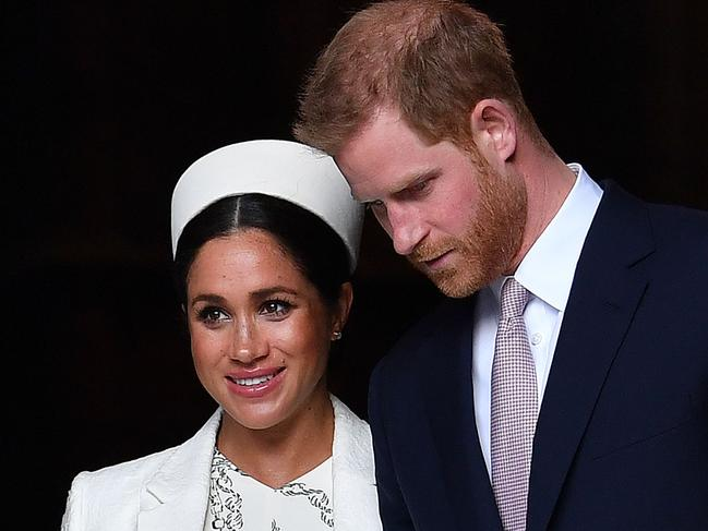 Meghan and Harry seem determined to do things differently — but will the Queen let them? Picture: Ben Stansall/AFP