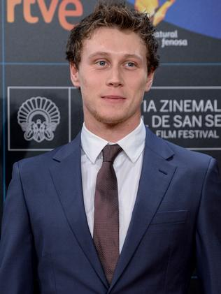 George MacKay is playing Ned Kelly.