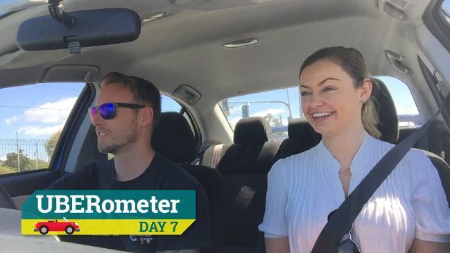 Comm Games UBERometer - Day 7