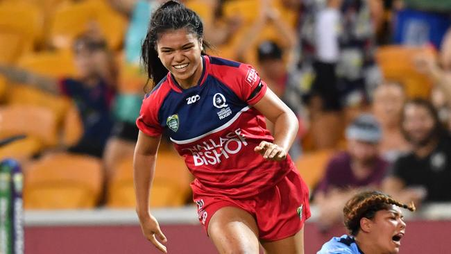 Queensland Reds player Alysia lefau-Fakaosileais the niece of Will Skelton and Mils Muliaina