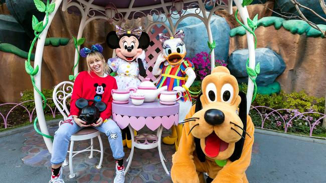 There's another side to the 'happiest place on earth'. Picture: Joshua Sudock/Disneyland Resort via Getty Images.
