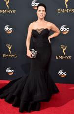 Neve Campbell attends the 68th Annual Primetime Emmy Awards on September 18, 2016 in Los Angeles, California. Picture: AP