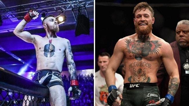 63f31a311 Conor McGregor clone Maurice Adorf video, UFC, MMA | Daily Telegraph