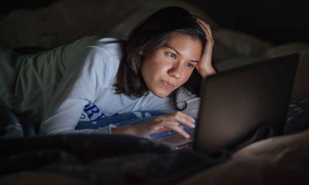 <b>CHECKING EMAILS AT NIGHT</b>  <p> Is your packed work schedule leaving you stressed, worried and checking emails at night? Or perhaps you just want to be ahead of the game for the morning. But it's doing you more harm than good. New research from Lehigh and Colorado State Universities found that those who check their emails outside work hours experience more stress and mental health problems, but they might not realise to start with. Their partners are normally the ones that are the most affected and experience the same stress as their spouse, a survey of workers aged between 31 and 40 found.</p>  <i>Image: iStock</i>