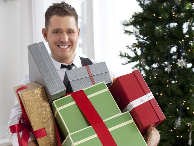 Michael Buble has been the Christmas king for past seven years. Picture: Supplied.