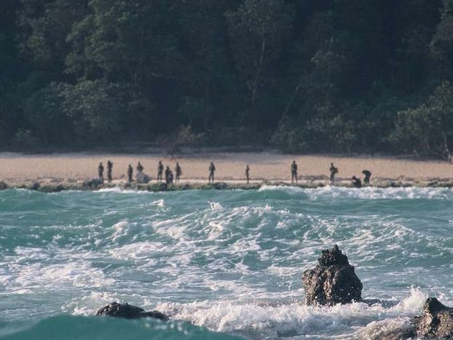 Sentinelese and North Sentinel Island Picture: Christian Caron/Creative Commons