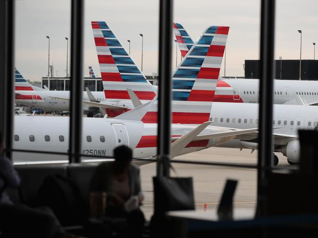American Airlines is among the carriers adopting the change. Picture: Scott Olson/Getty Images/AFP