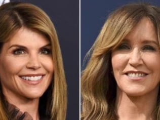 Actors Lori Loughlin (left) and Felicity Huffman are allegedly involved in a bribery scandal. Picture: AP PhotoSource:AP