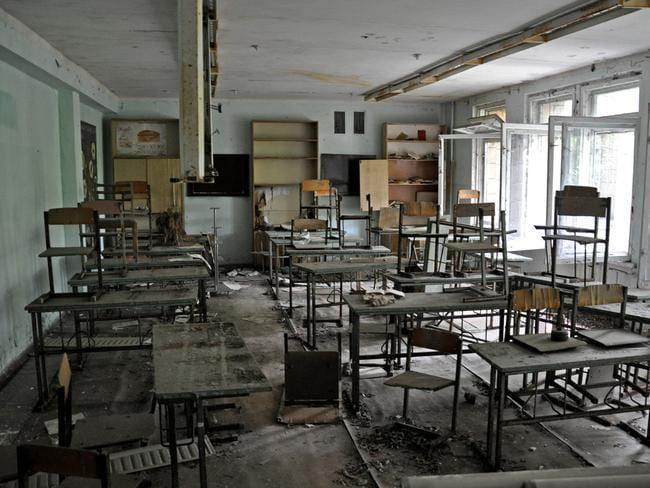 Classrooms abandoned. Picture: Anosmia.