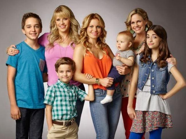 <i>Full House </i>— renamed  <i>Fuller House </i>— also made a comeback (minus the Olsen twins). Picture: Supplied