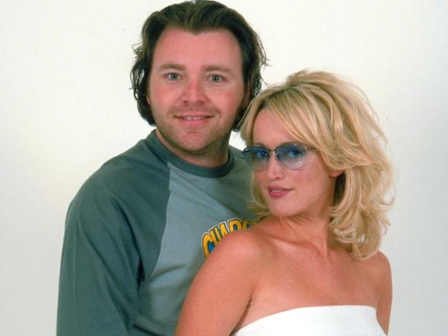 Kyle and Jackie O in 2001.