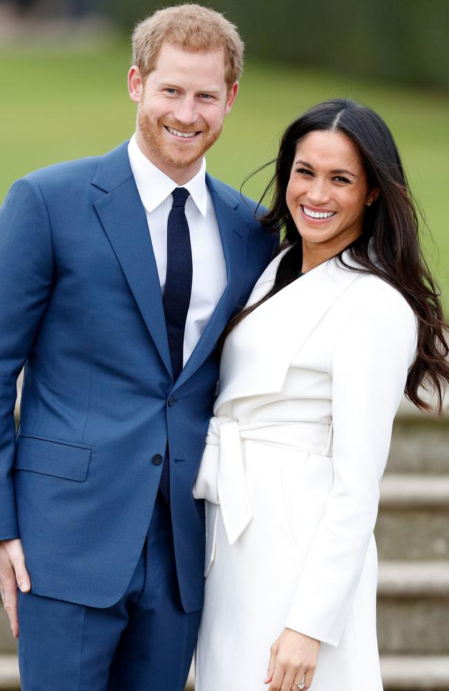 Celebrity bridal designer Vera Wang thinks Meghan Markle will go against tradition for her wedding dress. Picture: Max Mumby