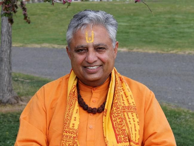 Universal Society of Hinduism president Rajan Zed.