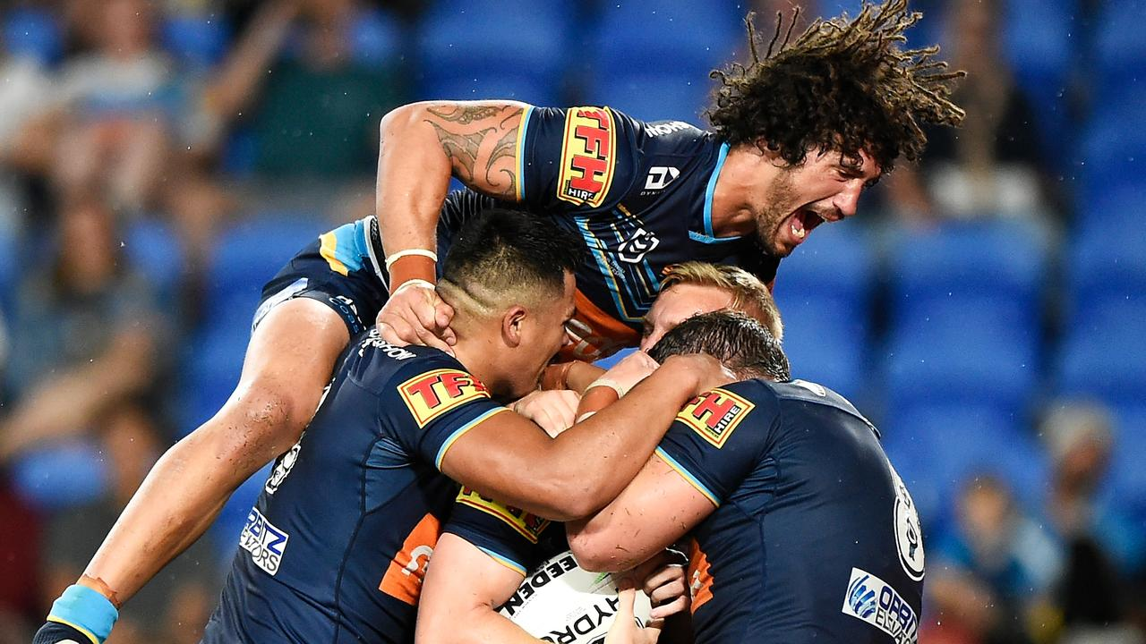 The Titans capped off a promising season with an impressive win over the Knights. (Photo by Matt Roberts/Getty Images)