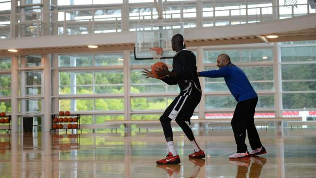 Thon Maker wants to earn a spot in the Australian national team.