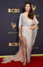 Jessica Biel attends the 69th Annual Primetime Emmy Awards at Microsoft Theater on September 17, 2017 in Los Angeles. Picture: Getty
