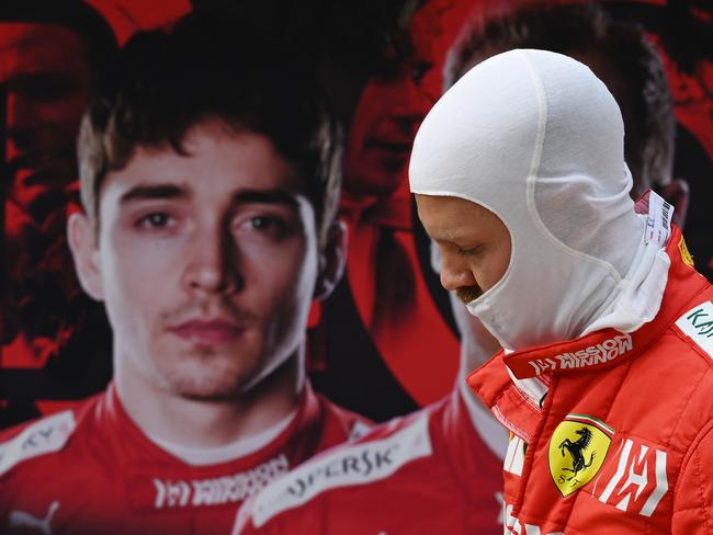 Who is Ferrari's real poster boy? (Photo by GREG BAKER / AFP)