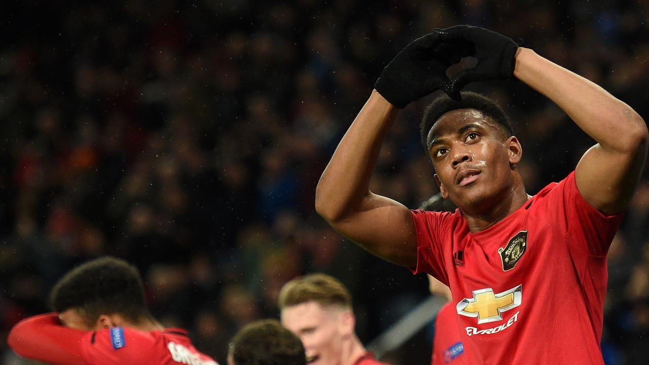 Anthony Martial scored a quality goal as United's offence found their shooting boots.