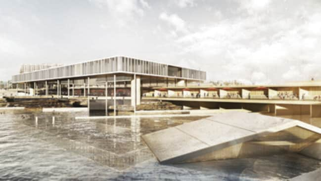 A hotel would be built as part of the ambitious overhaul. Picture: Mott MacDonald