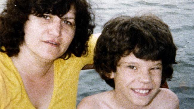 Murder victim Maria James and her son Adam.