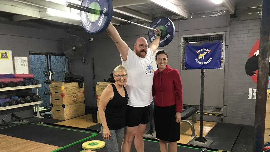 Zillmere weightlifters: club receives donation of Games