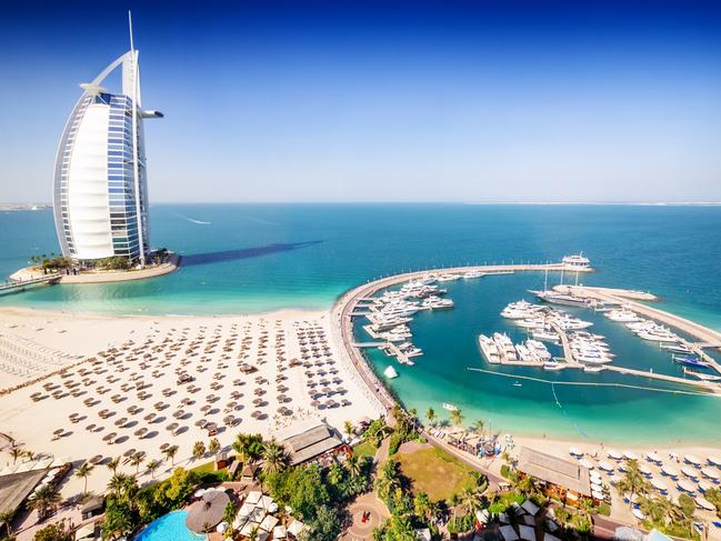 Dubai attracted the most in visitor spending.