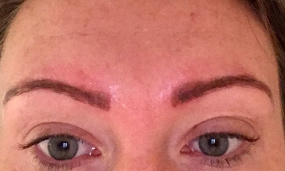 Eyebrow tattoos gone wrong: Why I regret getting my feathering my ...